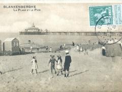Blankenberghe La Plage et le Pier