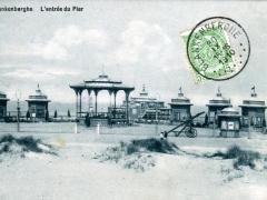 Blankenberghe L'entree du Pier