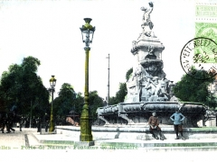 Bruxelles Porte de Namur Fountaine de Brouckere