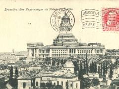Bruxelles Vue Panoramique du Palais de Justice
