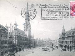 Bruxelles Vue generale de la Grand