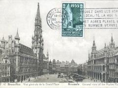 Bruxelles Vue generale de la Grand'Place