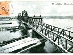 Duisburg Ruhrort Rheinbrücke