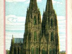 Köln a Rh Dom Westseite