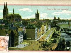 Köln a Rh Am Leystapel