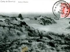 Camp de Beverloo Dunes d'Hechtel