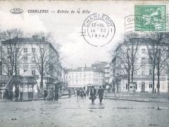 Charleroi Entree de la Ville