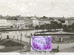 Charleroi Entree de la ville quai de Brabant