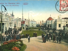 Charleroi Exposition 1911 Allee des Pavillons