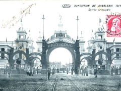 Charleroi Exposition 1911 Entree principale