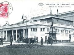 Charleroi Exposition 1911 Palais des travaux feminins