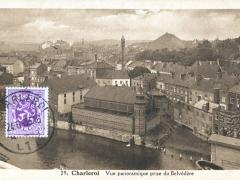 Charleroi Vue panoramique prise du Belvedere