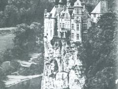 Chateau Walzin et la Meuse