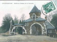 Chaudfontaine Entree du Chateau de la Rochette