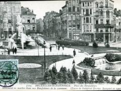 Bruxelles Schaerbeck Place des Bienfaiteurs