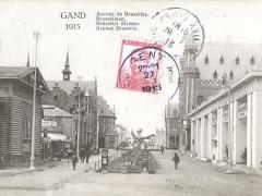 Gand 1913 Avenue de Bruxelles
