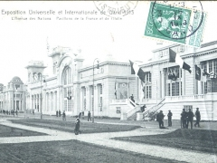 Gand 1913 Exposition L'Avenue des Nations