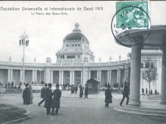Gand 1913 Exposition Le Palais des Beaux Arts