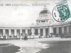 Gand 1913 Le Palais des Beaux Arts