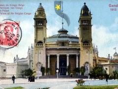 Gand 1913 Le Palais du Congo Belge