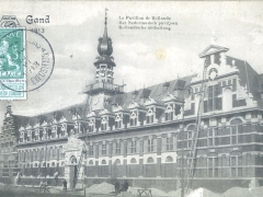 Gand 1913 Le Pavillon de Hollande