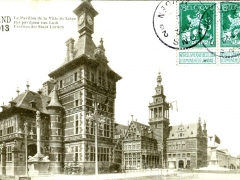 Gand 1913 Le Pavillon de la Ville de Liege