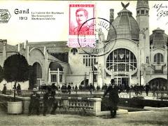 Gand 1913 Maschinengalery