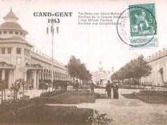 Gand 1913 Pavillon de la Grande Bretagne