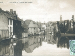 Gand Canal pres du chateau des Comtes