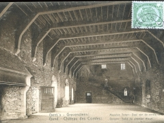 Gand Chateau des Comtes Donjon Salle du premier etage