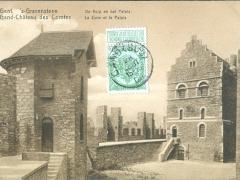 Gand Chateau des Comtes La Cuve et le Palais