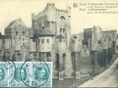 Gand Chateau des Comtes de Flandre