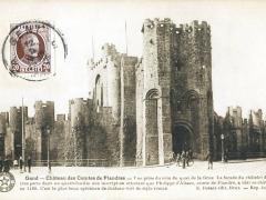 Gand Chateau des Comtes de Flandres