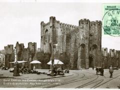 Gand Chateau des Comtes vue generale