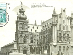 Gand Exposition Internationale 1913 Le Pavillon de Bruxelles