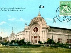 Gand Exposition Internationale 1913 Le Pavillon de la Ville de Paris
