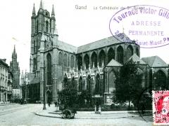 Gand La Cathedrale de St Bavor
