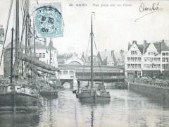 Gand Vue prise sur un Canal