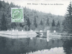 Gileppe Barrage du Lac de Borchene