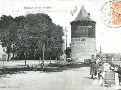 Givet Allee des Tilleuls Place de la Victoire