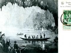 Grotte de Han Le Lac d'Embarquement
