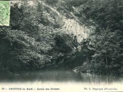 Grottes de Han Sortie des Grottes