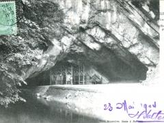 Han sur Lesse Le trou de Han Sortie des grottes