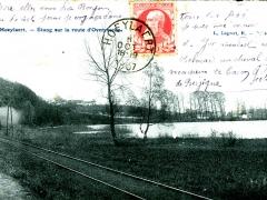 Hoeylaert Etang sur la route d'Overyssche