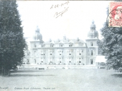 Houyet Chateau Royal d'Ardenne Facade sud