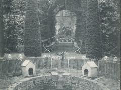 Iseghem Institut de Pelychy vue prise du jardin anglais