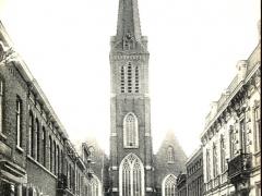 Iseghem Rue et Eglise St Hilon