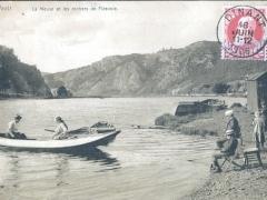 La Meuse et les rochers de Fidevoie