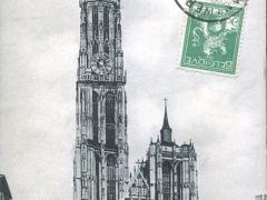 La fleche de la Cathedrale
