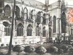 Malines Facade sud de la Cathedrale